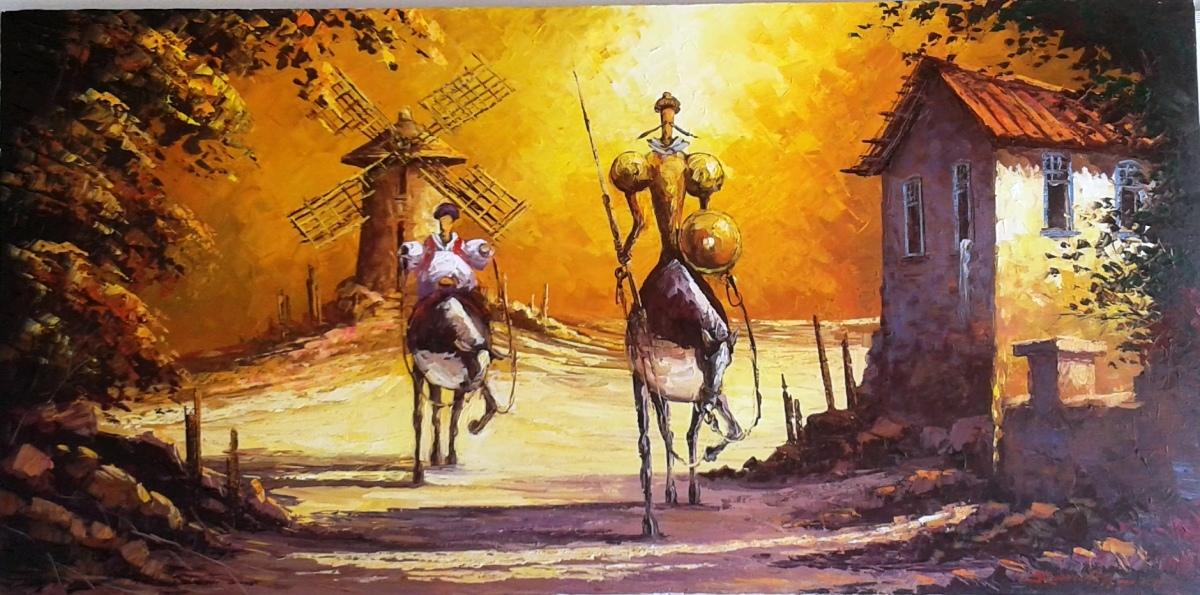 Dom Quixote; o herói da fantasia e da realidade